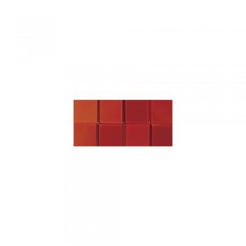 Mozaika akrylová 1x1cm, 205ks, červená