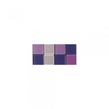 Mozaika akrylová 1x1cm, 205ks, fialová