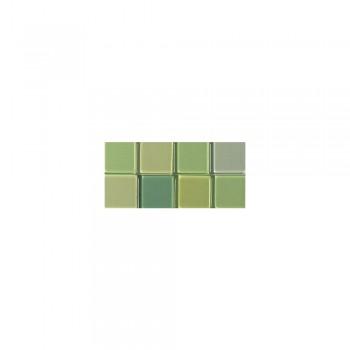 Mozaika akrylová 1x1cm, 205ks, sv. zelená