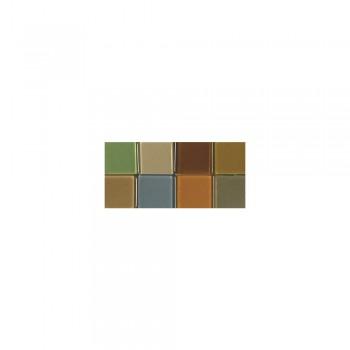 Mozaika akrylová 1x1cm, 205ks, tm.barvy