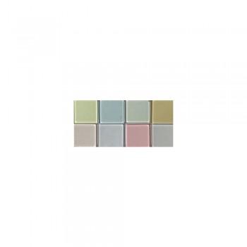 Mozaika akrylová 1x1cm, 205ks, pastel. odstíny