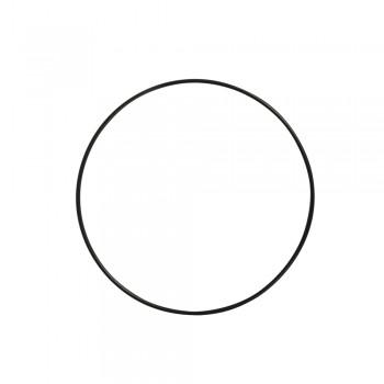 Kovový kruh, 10cm - černý