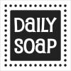 """Odlévací šablonka """"Daily Soap"""", 50x50mm, 1ks"""