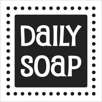 "Odlévací šablonka ""Daily Soap"", 50x50mm, 1ks"