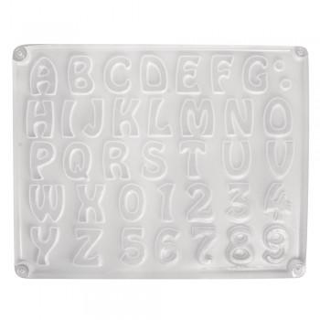 Odlévací forma - abeceda
