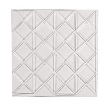 Reliéfní deska pro odlévání dlaždic - trojúhelníky, 11x11cm
