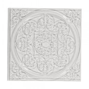 Reliéfní deska pro odlévání dlaždic - Mandala, 11x11cm
