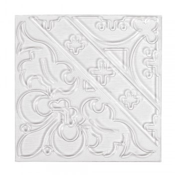 Reliéfní deska pro odlévání dlaždic - ornament, 11x11cm