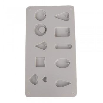 Silikonová odlévací forma na šperky - 11 motivů