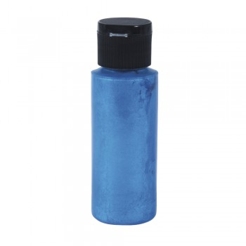 Barva na textil Rayher 59ml - metalíza modrá