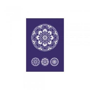 Sítotisková šablona A5 -  Art of Mandala