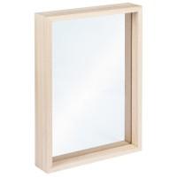 Dřevěný rámeček na postavení, 16x22x3,5cm  s plexisklem