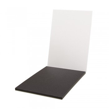 Akvarelový blok A4, 210x300mm, 270 g/m², 15 papírů - černý