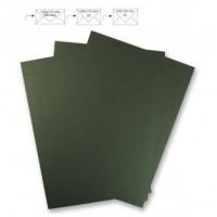 Metalický papír - zelený, 21,3x30cm, 240g/m2