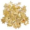 Konfety - hvězdy, fólie zlatá, pr. 3cm, 15g