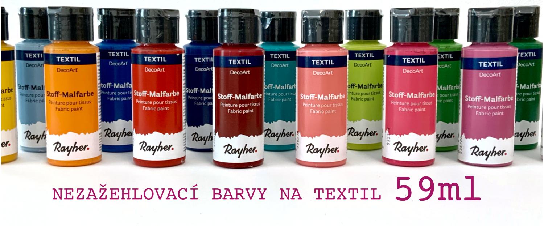 Barvy na textil 59ml