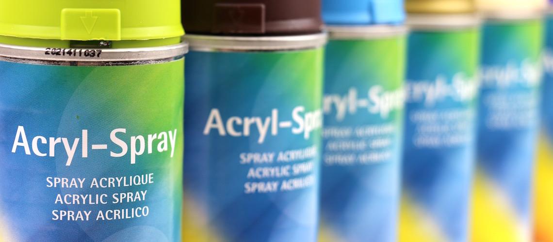 Akrylové spreje