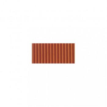 vlnitá lepenka 50x70cm - oranžová- 34