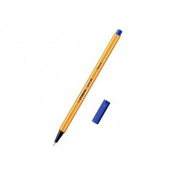 Stabilo point 88, 0,4 fine - modrá 10ks