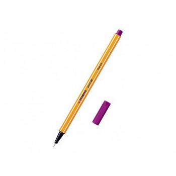 Stabilo point 88, 0,4 fine - fialová 10ks
