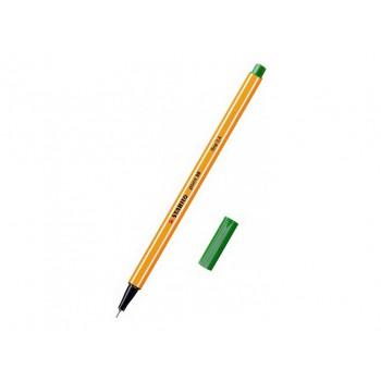 Stabilo point 88, 0,4 fine - zelená 10ks