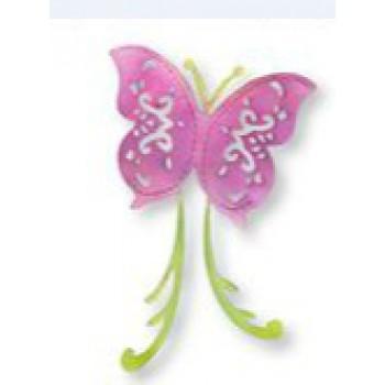 Výsekový nůž - motýl, 8,9x11,4cm