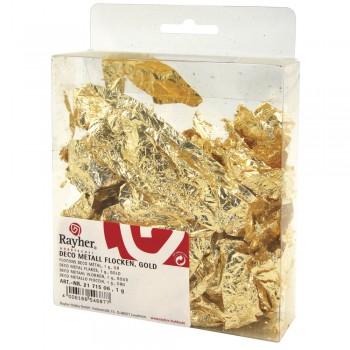 Deco-Metall-Floky - zlaté. 1g