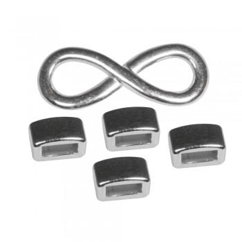 Sada infinity - stříbrná