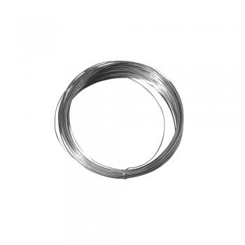Drát stříbrný, měděné jádro pr.0,8mm