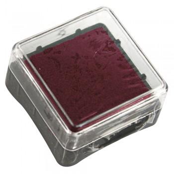 razítkovací polštářek 3x3cm - vínový