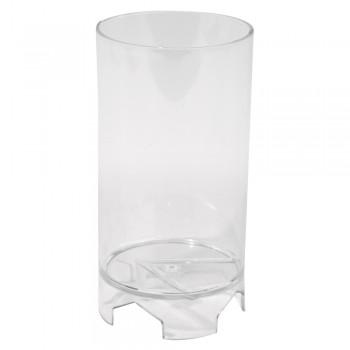 Forma na svíčky, zylindrisch, flach, 10,5 cm výška,  6 cm ø