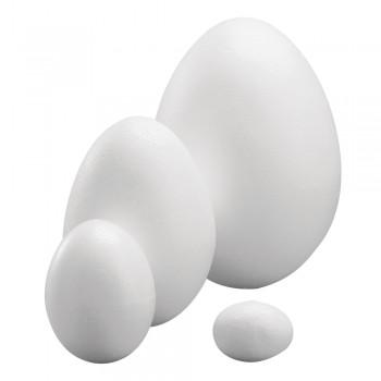 vejce polystyren, 15cm - dvoudílné