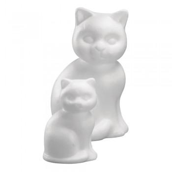 kočka polystyren, 13cm