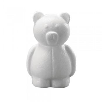 medvěd polystyren, 15cm