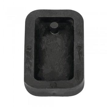 Odlévací forma na šperky - obdélník, 1,9x3,9cm