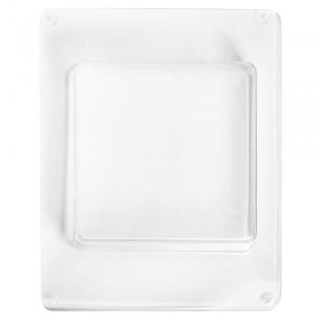 Odlévací forma - čtverec, 8,5x8,5cm, hloubka 3,5cm