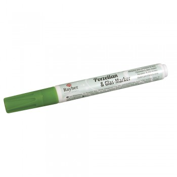Fix na sklo a porcelán - zelený - 426