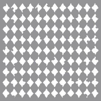 Šablona - Harlequin, 30,5x30,5cm