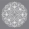 Šablona - Mandala velká, 30,5x30,5cm
