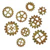 Sizzix Thinlits 3 in 1, 4.76cm x 4.76cm - 2.86cm x 2.86cm, - ozubená kolečka