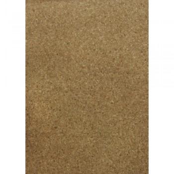 Korkový papír - Granulat, samolepící, 20,5x28cm, 1list