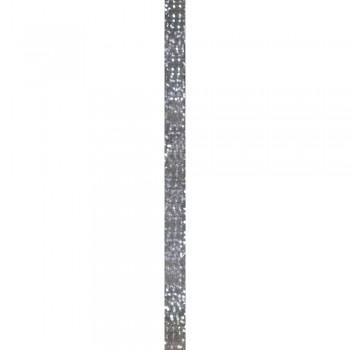 Quillingová folie, stříbrno-irisová, 53x0,6cm, 105 g/m2, 100ks
