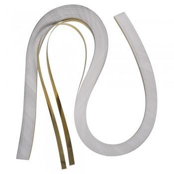 Quillingová folie, zlatá, 53x0,6cm, 105 g/m2, 100ks