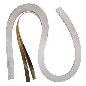 Quillingová folie, zlatá, 53x0,9cm, 105 g/m2, 100ks