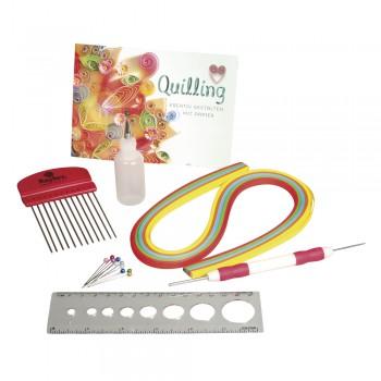 Quilling Starter Set, plastový box s náplní