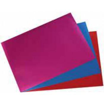 My Style metalická fólie A4,červená,růžová,modrá