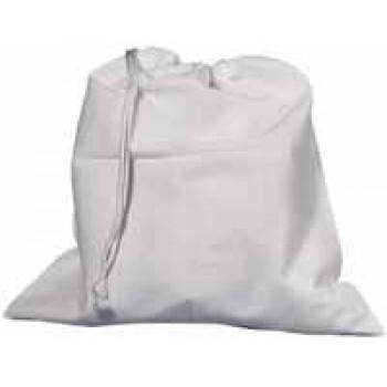 sáček na přezůvky - bavlna bílá 32x35cm