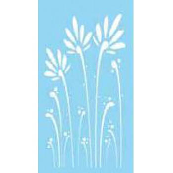 šablona Rayher 15x30cm - trávy