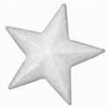 hvězda polystyren, 10cm
